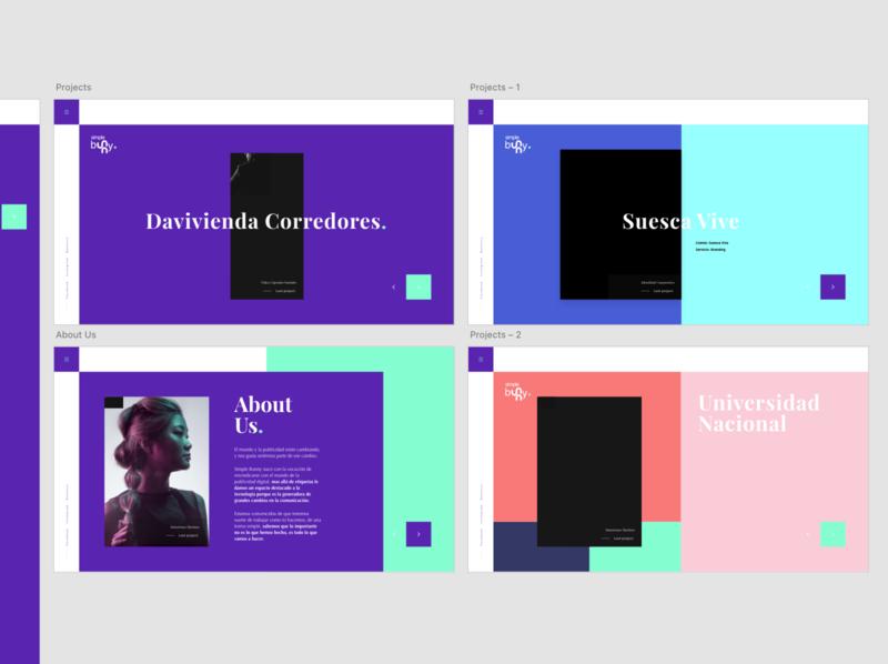 Colorful Web Design uiux websites webpage webdesign ux interface ui design website design minimalist concept design website builder website concept web design website web userinterface uidesign ui design