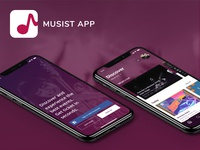 Musist App - On Progress react-native pet project ios android mobile