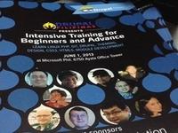 Intensive Training Brochures