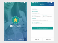 Bitwards Mobile App Wip