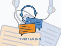 E-Speaking Icon