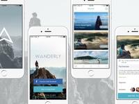 Wanderly iOS app - WIP
