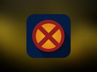 X-Man Flat Icon