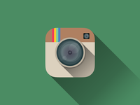 Flat Instagram Icon Vol. 2