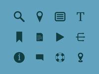 Quesity Icon Set