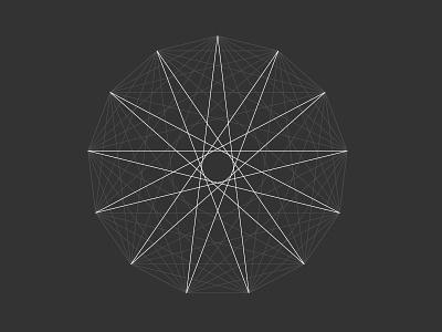 13 polygon star triangle sacred geometry sacred geometry symmetry king pentagram seal sign enneagram
