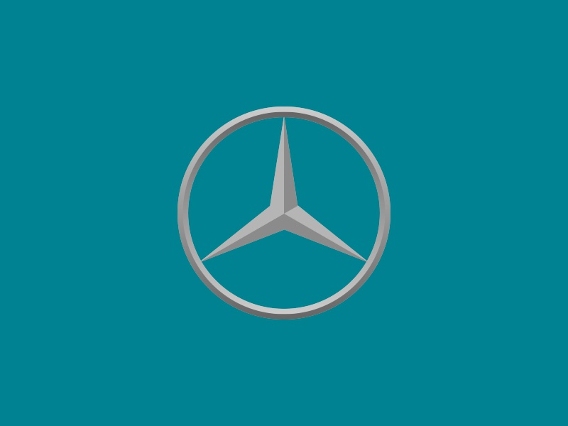 Benz auto vehicle vector symbol illustration icon classic car automobile logo benz mercedes