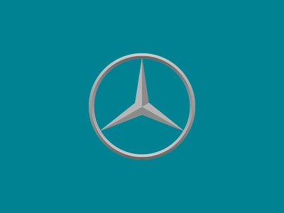 Benz auto vehicle vector symbol illustration icon classic car automobile logo benz mercedes