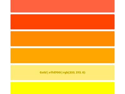 Sunrise jekyll sunrise colors github css scss git html color names palette sunset rainbow
