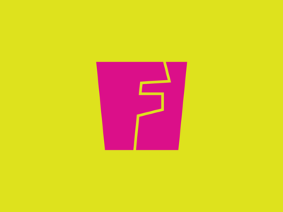 F by Ben Kalsky via dribbble