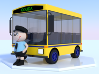 3D Bus and Bus Driver, I'm getting dizzy over here!