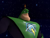 Captain Qwark 3D Character