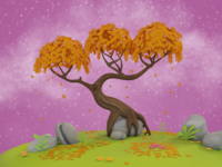 Old Oak Tree 3D Environment