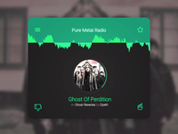 (Pure Metal) Radio Card