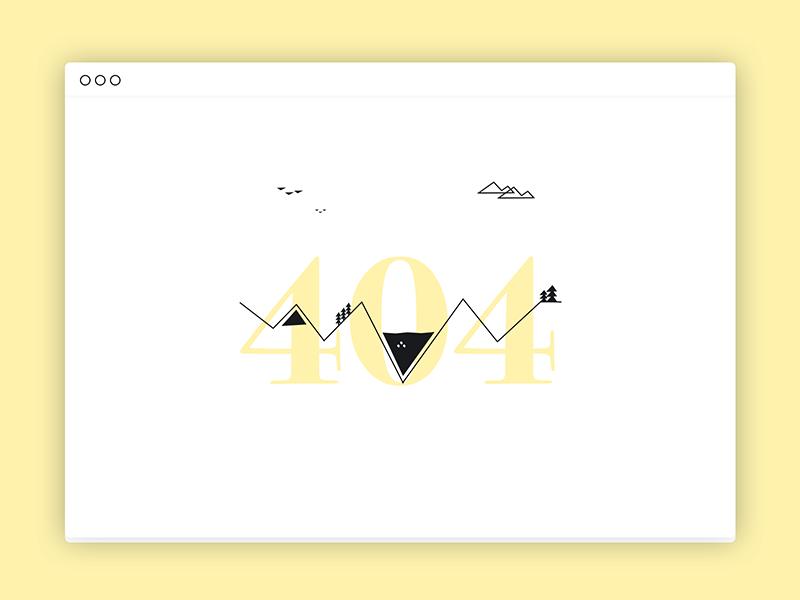 #7 :: 404 page line 404 daily-ui dailyui