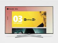 Daily UI :: 24 - TV App