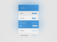 Daily UI :: 37 - Workout Tracker