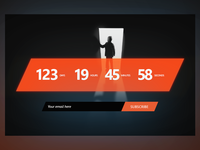 Daily UI :: 44 - Coming soon