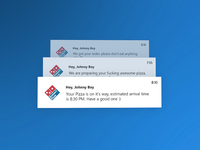 Daily UI :: 45 - Notifications