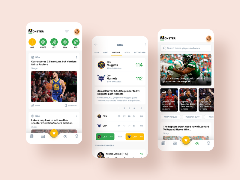 sports app results live match score events news design app design app sports