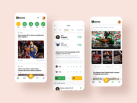 sports app results live match score events news design app design app sports