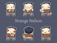 Strange Nelson. A telegram sticker pack