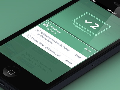 Redeemed Mobile UI