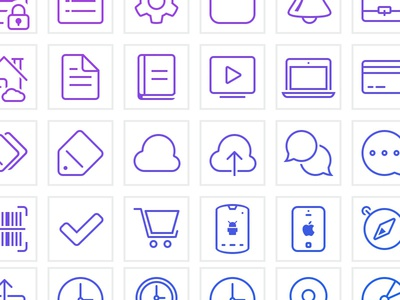 ShopSavvy Line Icons