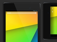 Vector Nexus 7 Free PSD