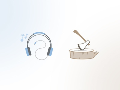 Headphones & Axe