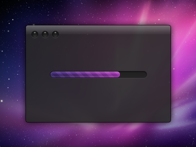 Dark UI - PSD Download dark ui interface progress bar free download psd purple blue transparent