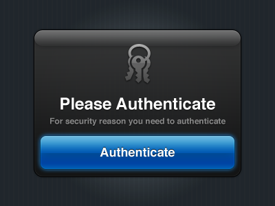 Authenticate