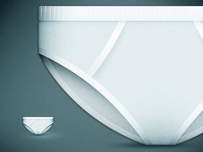 Laundry Day undies icon blue