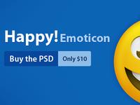 Happy! Emoticon