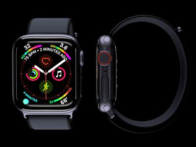 Apple Watch Series 4 series4 watch apple fusion360 3d