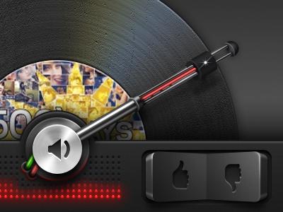 iPhone Tabbar - Retina Details rocker iphone retina details ui interface