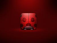Ladybug iPhone 4 Icon