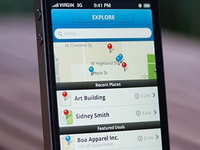 Explore iPhone UI (Mobile Design)
