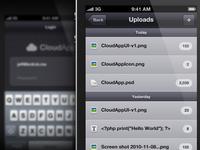 Stratus App iPhone UI v2