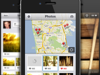 Secret Map iPhone UI