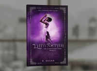 ReDesign of The Starchaser Saga - DAWNSTAR by R. Dugan book covers book cover design photosop cover design professional professional book cover design book cover book graphic design