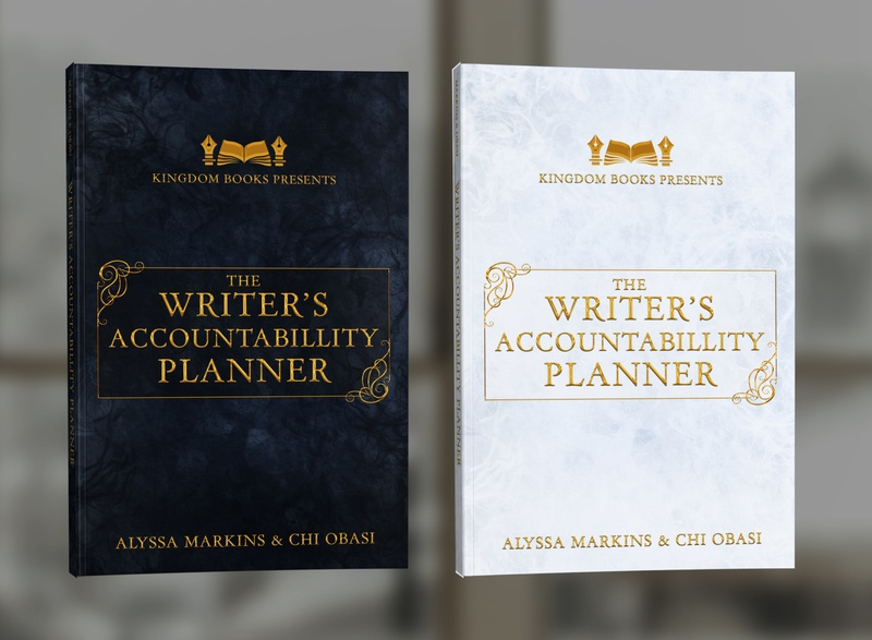 Writer's Accountability Planner by Alyssa Markins & Chi Obasi book covers book cover design photosop cover design professional professional book cover design book cover book graphic design