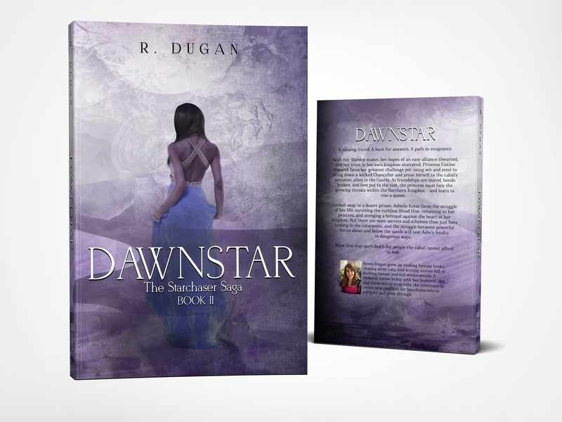 Book cover: The Starchaser Saga - DAWNSTAR by R. Dugan book covers book cover design cs6 cover design photosop professional professional book cover design book book cover photosop cs6 graphic design