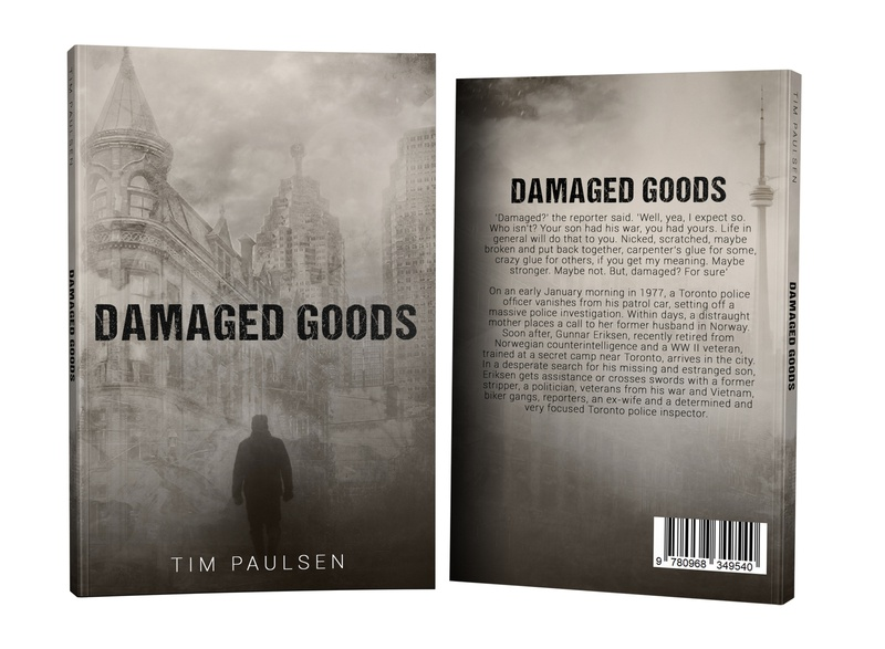 Damaged Goods by Tim Paulsen graphic book cover design photosop design cover professional professional book cover design book cover book graphic design