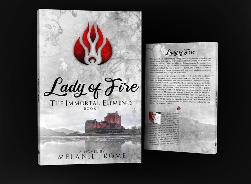 Lady of fire by Melanie Frome book covers photosop book cover design design cover professional professional book cover design book cover book graphic design