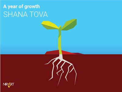 A year of growth SHANA TOVA