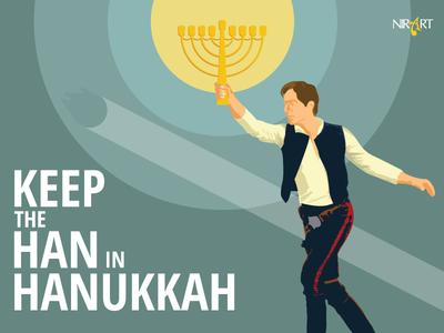 Han Solo Hanukkah Dribbble