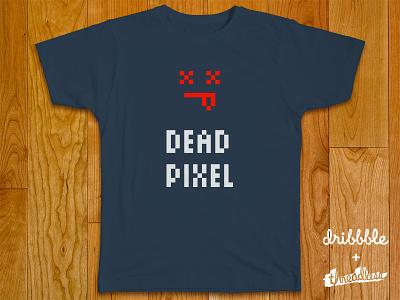 Dead Pixel / Threadlesss threadless t-shirt logo dribbble pixel font