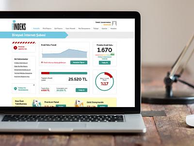 Fintech Dashboard  clean grid design box model website web dashboard