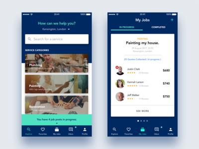 Services App